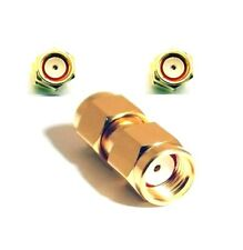 RP SMA male To RP SMA male Coupler Connector Adaptor Reverse Polarity 1884