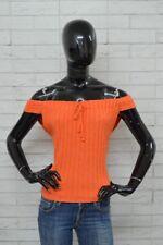 Maglia MOSCHINO JEANS Donna Taglia Size 46 Woman Frau Shirt Polo Camicia Jersey
