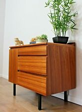Vintage Retro Sideboard Rosewood Compact Chest of Drawers Danish Mid Century
