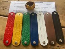 More details for leather scout woggle - activity pack 'how to magic plait a scout woggle'