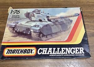 BNIB Matchbox 1988 1:76 CHALLENGER.  British Main Battle Tank