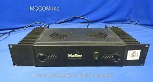 Hafler P3000 trans nova 2 Channel Power Amplifier -Working