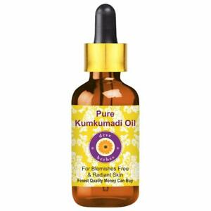 Pure Kumkumadi Oil 100% Natural Therapeutic Grade For Blemishes Free and Radiant