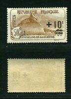 """FRANCE STAMP TIMBRE N°167 """" ORPHELINS + 10c S. 50c+50c """" NEUF xx TTB"""