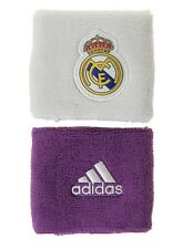 Adidas Real Madrid FC Soccer Wrist Band Running Football White RMFC GYM S94901