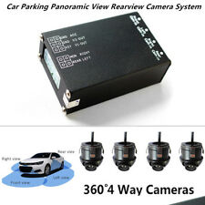 Car Parking Panoramic View Rearview Camera System 360 Degree + 4PCS Camera 9-30V