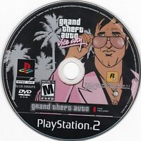 *REPLACEMENT* Grand Theft Auto: Vice City (Sony PlayStation 2) **DISC ONLY**