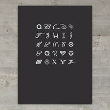 """The ABC's of Branding"" Limited Edition Art Print (Black Version)"