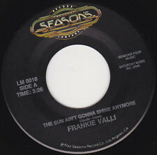 "FRANKIE VALLI - The Sun Ain't Gonna Shine Anymore 7"" 45*"
