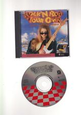 CD-ROM WINDOWS/MAC ROCK N ROLL YOUR OWN music-making