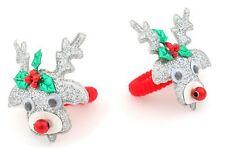 Zest 2 Rudolph Hair Band Ponios Hair Accessories Silver & Red
