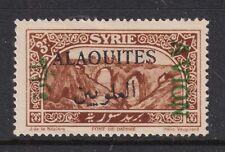 Alaouites C6a F-VF LH 1925 3p Airmail Stamp Inverted AVION Overprint SCV $75