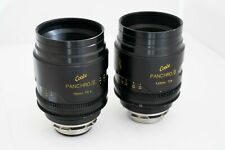 Cooke Mini S4 lenses in feet scales. (Panchro)