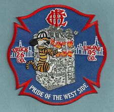 CHICAGO FIRE DEPARTMENT ENGINE 95 TRUCK 26 COMPANY PATCH