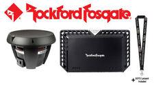 "Rockford Fosgate Power T1D412 12"" 4-ohm subwoofer & T1000-1bdCP Power Amplifier"