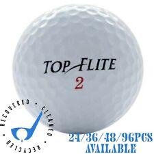 24/36/48/96pc Top-Flite Golf Balls Near Mint Used AAAA Quality 4A Golf Balls
