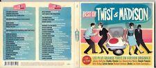 2 CD DIGIPACK BEST OF TWIST & MADISON CLAUDE FRANCOIS/HALLYDAY/VARTAN/SHEILA