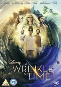 A Wrinkle in Time DVD (2018) Reese Witherspoon, DuVernay (DIR) cert PG