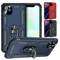 iPhone 11 Pro Max X XS XR XS Max 7 8 Plus 11 Case Metal Ring Kickstand Cover
