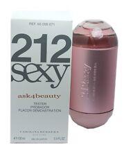 212 Sexy by Carolina Herrera 3.4oz/100ml Edp Spray Tsr For women New In Tstr Box