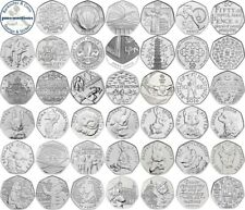 VARIOUS UK GB COMMEMORATIVE 50P FIFTY PENCE COINS - SELECT FROM LIST 1998-2020