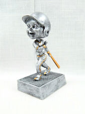 "Signed Pdu Resin 5 1/2"" Boy Baseball Player Bobblehead Trophy Award"
