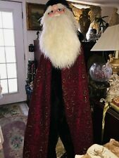 Dan Dee Majestic Santa Deluxe 9 Foot Tree Topper