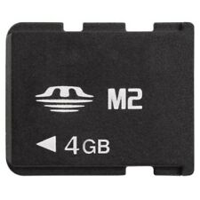 M2 Card 4GB Memory Stick Micro For Sony Ericsson Cell Phone /PSP Go
