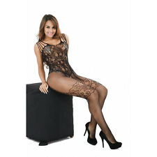 Sexy Womens Mesh Lingerie Babydoll Dress Underwear Sleepwear BK