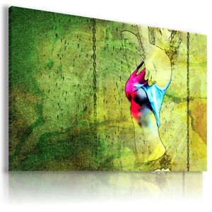 WOMAN ART Abstract Modern Canvas Wall Art Picture Large Sizes  BA39 X