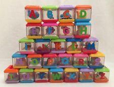 Fisher-Price Peek-a-Blocks Alphabet A-Z Letter Blocks