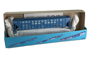 HO Vintage Athearn Closed Hopper Tamora Staplehurst Nebraska Co-Op 26329 Kit box