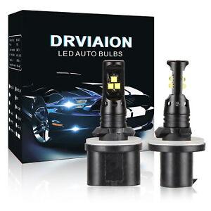 2Pcs 880 LED Fog Light Bulbs Driving Lamp DRL 6500K High Power