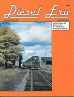 Diesel Era Sept 91 GP Gloster Southern Reading Baldwin C&NW Navy Nuclear Fuel