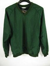 RARE Vintage 30 Knots Pullover Jacket Size L Green Long Sleeved 2 Pockets