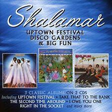Shalamar - Uptown Festival / Disco Gardens / Big Fun [CD]