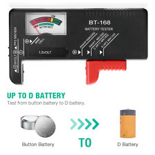 Universal Battery Tester Checker For Aa Aaa C D 9V 1.5V Button Cell Batteries