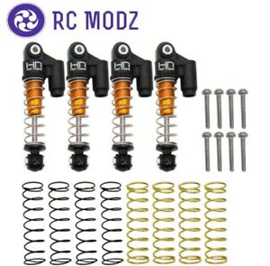 Hot Racing Aluminum Threaded Oil Emulsion Shocks Axial SCX24 SXTF326RX04