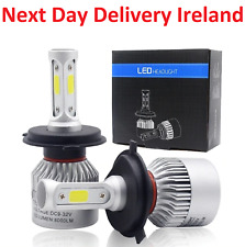 Car Led Headlight Lamp Bulb High Low Beam 6000K Light Replacement Bulbs Head