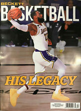 New December 2020 Beckett Basketball Card Price Guide Magazine W/ LeBron James