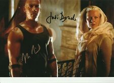 The Chronicles of Riddick 12 x 8 signed by Vin Diesel @ Judi Dench