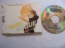 MADONNA Vogue/Keep It Together – 1990 German CD –Dance Pop – BARGAIN!