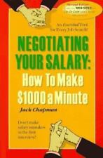 Negotiating Your Salary, How to Make $1,000 a Minute, Chapman, Jack, Good Book