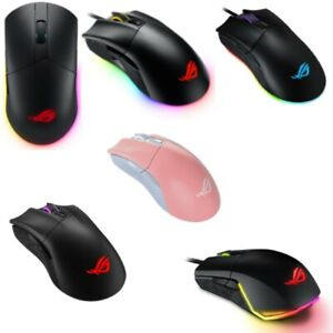 ASUS Gaming Mouse 6 Type Wireless Wired Pink Black Ambidextrous Right-handed