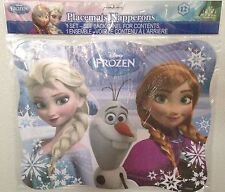 Disney Anna Elsa Olaf Frozen Birthday Party Placemats Supplies 12ct