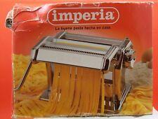 Imperia Pasta Maker Machine Model SP150 Hand Crank Made in Italy