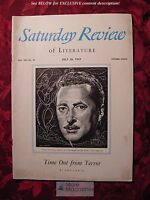 Saturday Review July 26 1947 LEO LANIA VICTOR WOLFSON