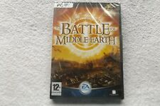 LOTR THE BATTLE FOR MIDDLE EARTH PC DVD-ROM ( brand new & security tag sealed )