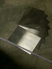 "stainless steel sheet 1 piece 22 gage 6"" x 4""+- metal plate 430 welding tig mig"