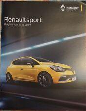 Renault Sport Clio Megane Brochure